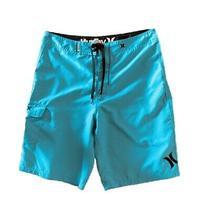 Hurley Men's Board Shorts Size 32 Teal Color 10