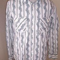 Hurley Men's Large L Button-Up Shirt Skateboard Surf L/s Photo