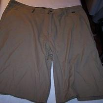 Hurley Mens Casual Short Pants Size 36 Brown Trendy Photo