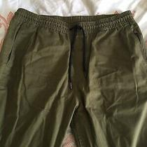 Hurley Mens Dri-Fit Large Ditch Pant Nike Olive Worn Twice Photo