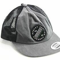 Hurley Mens Hat Gray One Size Sail Bait Baseball Cap Snapback Accessory 30 279 Photo