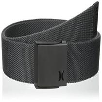Hurley Mens One Onlyweb Belts Medium Ash Size New  Photo