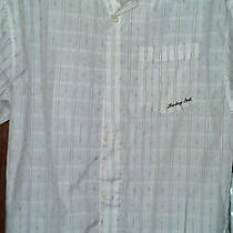 Hurley Mens Short Sleeve Button Front Shirt Size Small. Photo