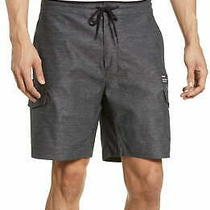 Hurley Mens Shorts Charcoal Gray Size 31 Cargo Dri-Fit Breathable 60 067 Photo