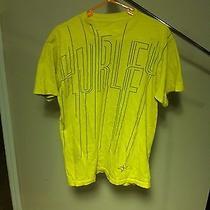 Hurley Mens Yellow Graphic Tee Size Medium Photo
