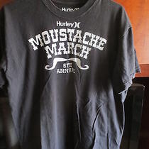 Hurley Mustache March Tee Large  Photo