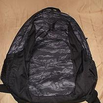 Hurley New Backpack Laptop Books Black Camo Photo