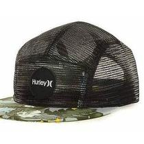 Hurley New Black Cali Camper Adjustable Fit Hat Cap Osfa One Size Fits All 32 Photo
