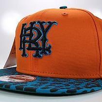 Hurley New Era 9fifty Major League Orange Surfing Snapback Sport Hat Cap Photo