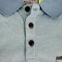 Hurley Nike Dri Fit Mens Short Sleeve Blue Green Polo Shirt Size Xl Photo