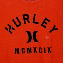 Hurley Nwt Men's Red T-Shirt W/logo  Premium Fit Size Large Photo