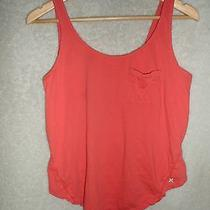 Hurley Orange Tank Top (S) Photo