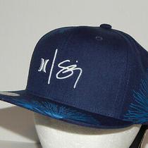 Hurley Sig Zane Wailehua Hat / Cap Snapback Navy Blue / White Cq8665-451 Photo