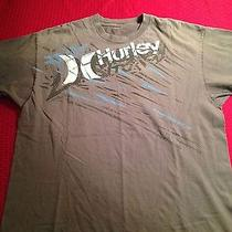 Hurley Size Large Grey T-Shirt  Photo