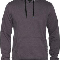 Hurley Staple Washed Pullover Hoodie Heather Graphite Mens Sz L Photo
