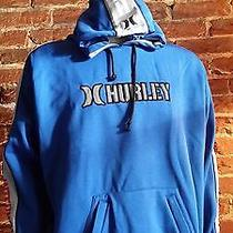 Hurley Sweatshirt Hoodie Blue Mens Xl Photo