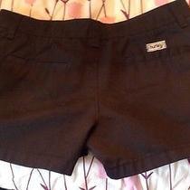 Hurley Sz 5 Black Short Shorts Euc Photo