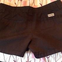 Hurley Sz 5 Black Short Shorts Euc Photo