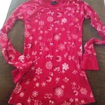 Hurley Thermal Winter Top M Holiday Red Photo