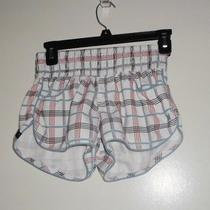 Hurley White Plaid Board Shorts Size 3 Photo