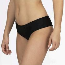 Hurley Women's Quick Dry Hipster Bikini Bottom Black Size Small U77c Photo