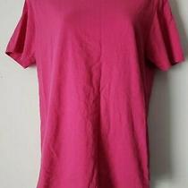 Hurley  Womens Pink Perfect Fit T-Shirt  Size Medium Photo