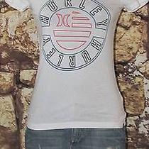Hurley Womens Pure White Signature Tee Xs Photo