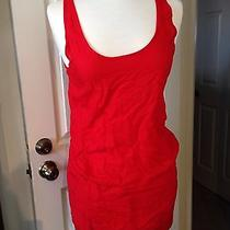 Hurley Womens Red Dress Blouse Summer Top Small Photo