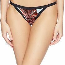 Hurley Womens Swimwear Black Red Size Xs Koko Cheeky Floral Surf Bottom 45 882 Photo