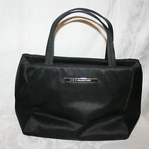 i.n.c. Black Satin Handbag Photo