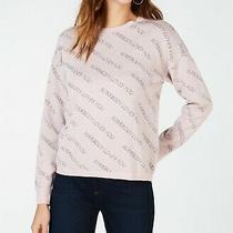 i.n.c. Printed Sweater Pale Blush Xs Photo