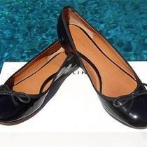 I Waaaaant695 Celine Black Patent Bow-Tie