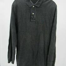 I8593 Vtg Polo Ralph Lauren Long Sleeve Polo Shirt Size M Photo