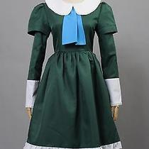 Ib Mary and Garry Game Mary Green Dress Cosplay Costume New  Tailored Photo