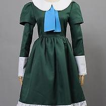 Ib Mary and Garry Game Mary Green Dress Cosplay Costume Tailored Photo