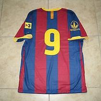 Ibrahimovic Barcelona Sweden Milan Inter Shirt Jersey Match Un Worn Player Issue Photo