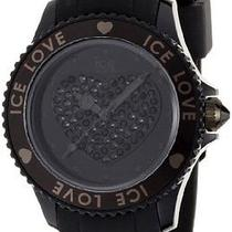 Ice-Watch Ice-Love Swarovski Crystal Black Unisex Watch Lobkus10 Photo