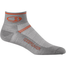 Icebreaker Multisport Ultralite Mini Sock - Men's Fossil/heat Xl Photo