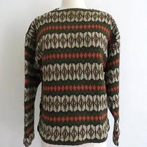 Iceland Vintage Hans Heitsch Sweater Made in Sweden Scandinavian Lambs Wool Euc Photo