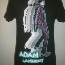 Idol Singer Adam Lambert Rock T-Shirt Photo