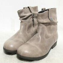 Ie-265 Birkenstock Sarnia Women's Boots Mud Waxed Suede Sz 37 Photo