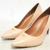 Ie-624 Coach Women's Patrice Leather Pump Shoes Sz 8.5b Photo