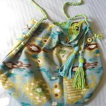 Ikat Design Handmade Beach Bag -Comes With a Gift  Photo
