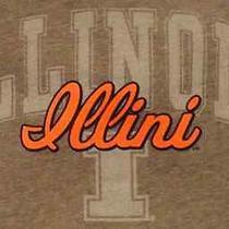 Illinois Illini Graphite Remix Hood Jansport Hoodie Sweatshirt Women's Medium Photo