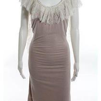 Imitation Blush Scoop Neck Natalia Jersey Dress Size Medium Ll19ll 225 Photo
