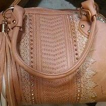 Imoshion Large  Bag Handbag Purse Tan Photo