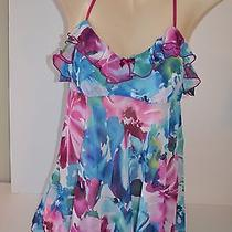 In Bloom by Jonquil Baby Doll Nightie - New - Medium - Msrp 44 Wbf110 Photo