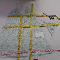 In Bloom by Jonquil 'Exclusive' Lace Babydoll & G-String Mint L -Nwt-40 Photo