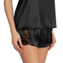 In Bloom by Jonquil Grace Satin Pajama Short Size S Black (183) Photo