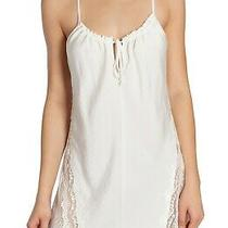 In Bloom by Jonquil Lace Trim Racerback Chemise Nightgown Size Small Photo